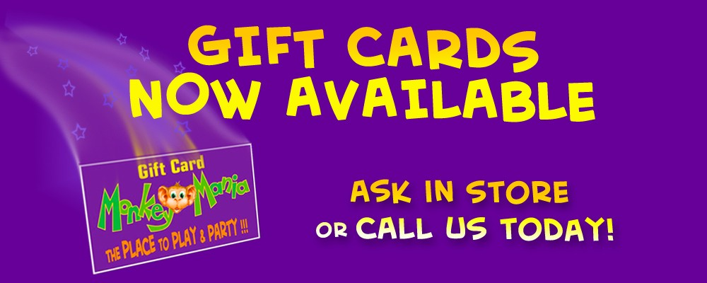 Gift Cards Now Avalible