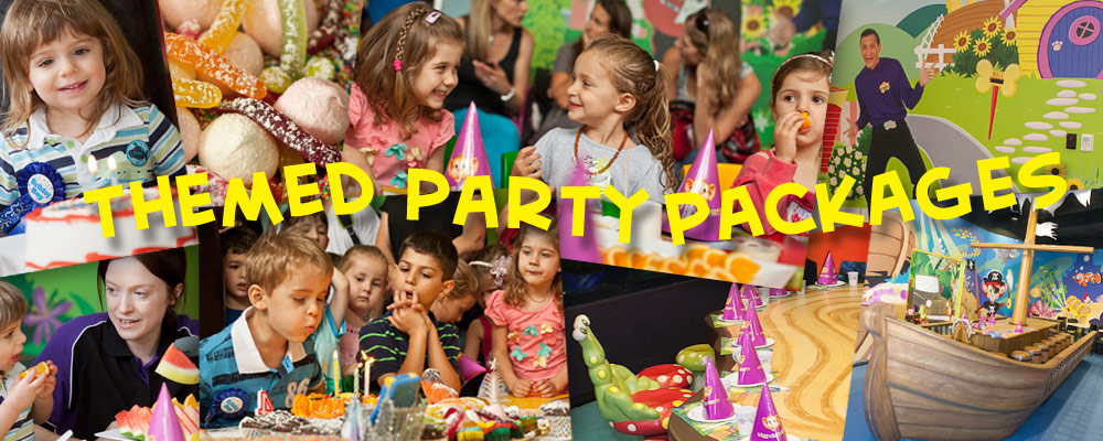 Themed Party Packages at Monkey Mania The Place to Play and Party
